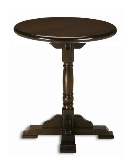 Masa pedestal rotunda 70