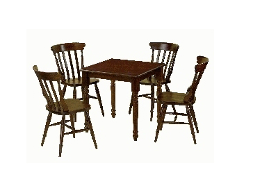 Set Table + 4 wood chairs  707