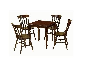 Set Masa + 4 scaune din lemn.