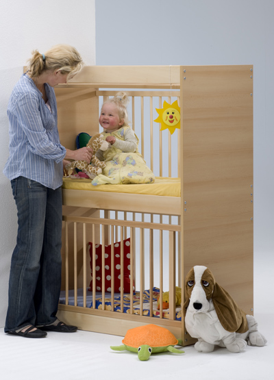Double bed for baby