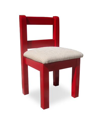 Upholstered Junior chair
