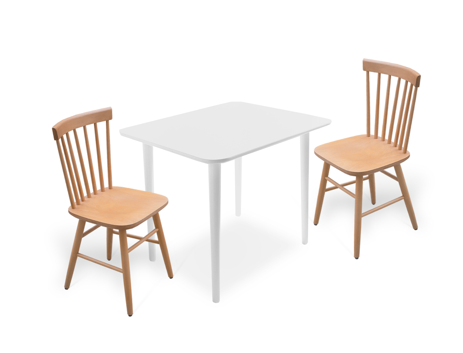 Elena table with Windsor chair
