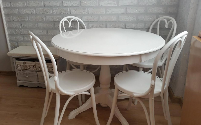 Masa Ghera cu scaune curbate 6018