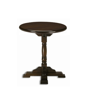 Pedestal round table 70