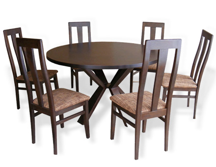 4V table and 6 chairs MD207 / 777
