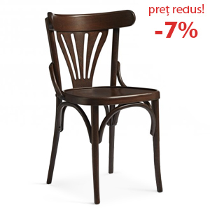 Curved wood chair 789M
