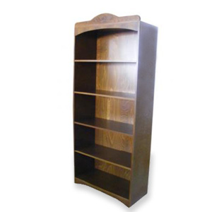 High bookcase with 4 shelves