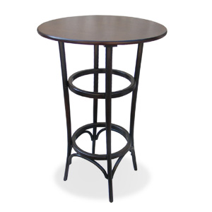 Bistro high bar table