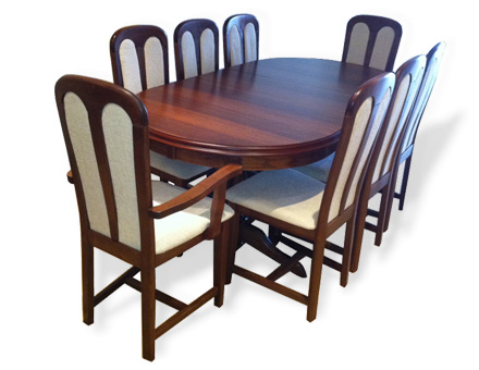 Table and chairs living set