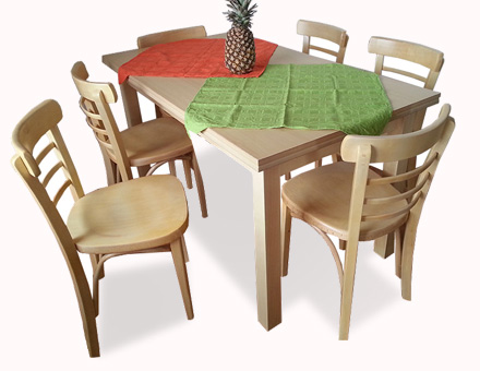 Table Country II with Epoca chairs
