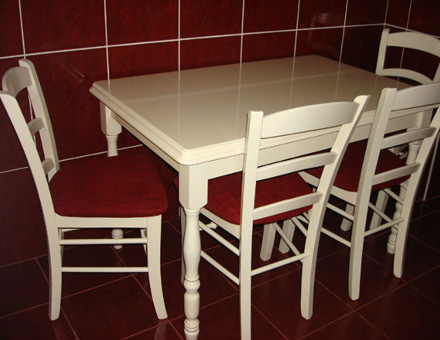 Country 3 table with MD 106 chairs set