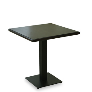 Table with steel leg