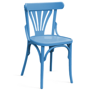 Colored wooden chair 789M