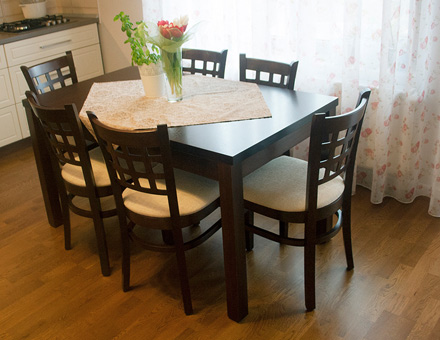 Roxana extendable table with MD170 chairs