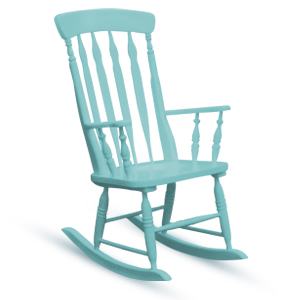 Colored Rocking Chair