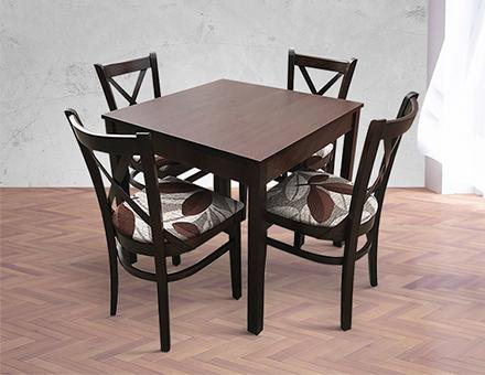 Masa restaurant cu scaune MD470(Mai ieftin cu 200 lei !)