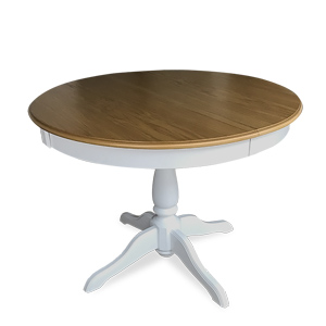 Extendable Ghera table in two colors