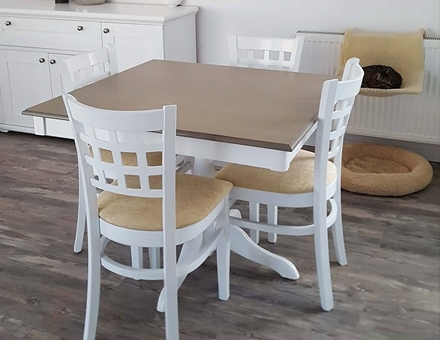Ghera II table with MD170 chairs