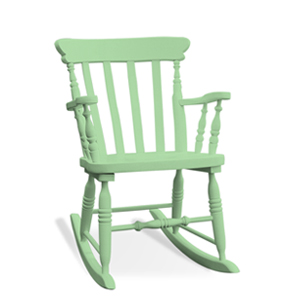 Rocking chair / II - colored