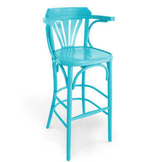 A56 M colored high bar chair