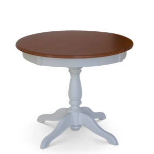 Extendable Ghera table with heat resistant top