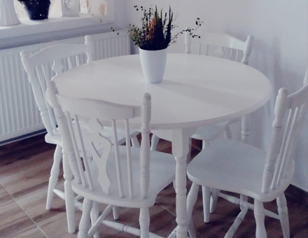Bonaza table with MD 811 chairs