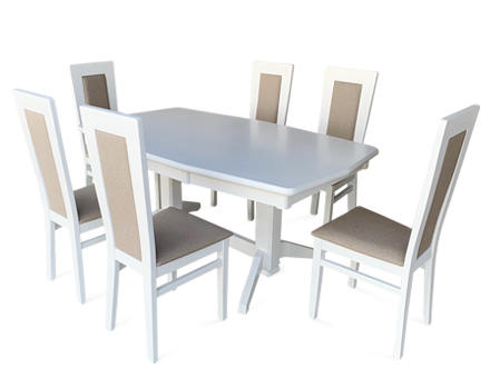 Europa Elegance Table with Elegance chairs